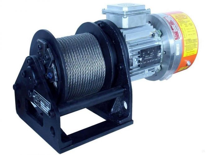 Electric Winch Gearbox