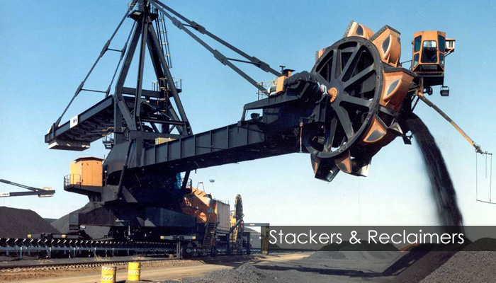 stackers & reclaimers